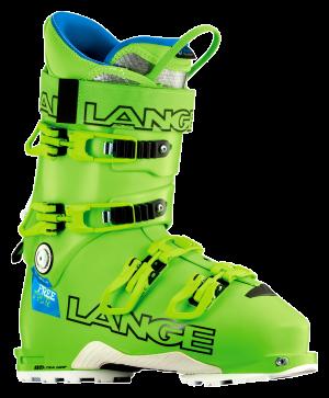 Lyžiarky Lange XT 130 L.V. FREETOUR acide green