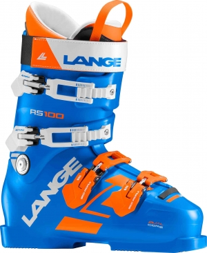 Lyžiarky Lange RS 100 power blue/orange/white