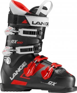 Lyžiarky Lange RX 100 black/red/white