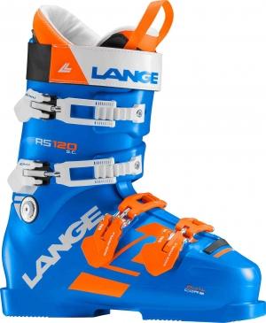 Detské závodné lyžiarky Lange RS 120 S.C. power blue/orange/white