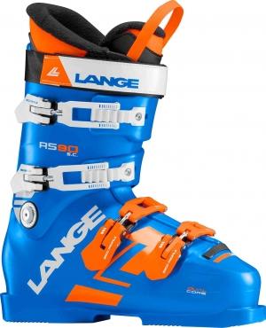 Detské závodné lyžiarky Lange RS 90 S.C. power blue/orange/white