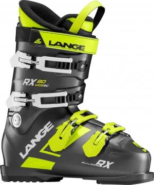 Detské lyžiarky Lange RX 80 S.C. WIDE black/green