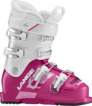 Detské lyžiarky Lange Starlet 60 white/pink