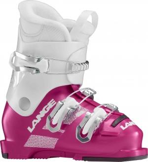 Detské lyžiarky Lange Starlet 50 white/pink