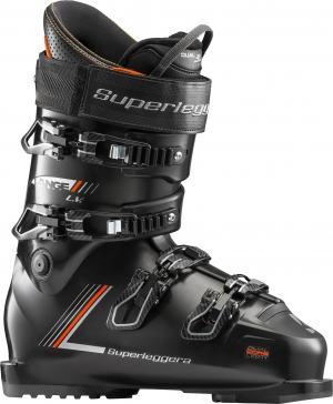 Lyžiarky Lange RX SUPERLEGGERA L.V. 120 black/orange