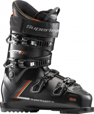 Lyžiarky Lange RX SUPERLEGGERA 120 black/orange