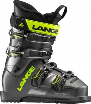 Detské lyžiarky Lange RXJ anthracite lime