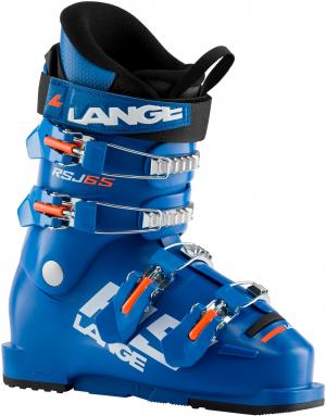 Detské lyžiarky Lange RSJ 65 power blue/ orange fluo