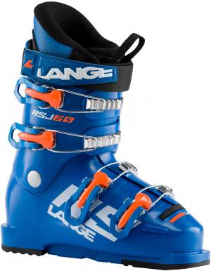 Detské lyžiarky Lange RSJ 60 power blue/ orange fluo