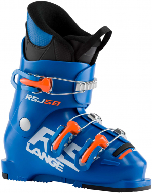 Detské lyžiarky Lange RSJ 50 power blue/ orange fluo
